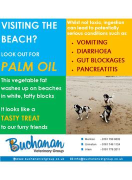 Palm oil warning